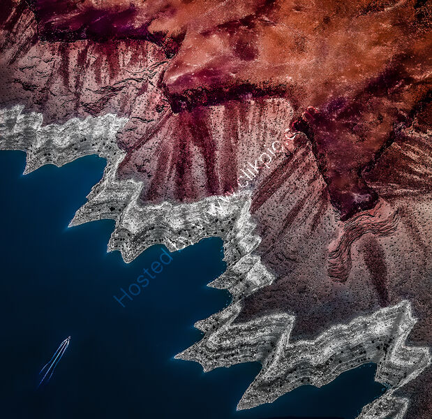 LAKE MEAD'S FASCINATING COASTLINE by Tony Barker