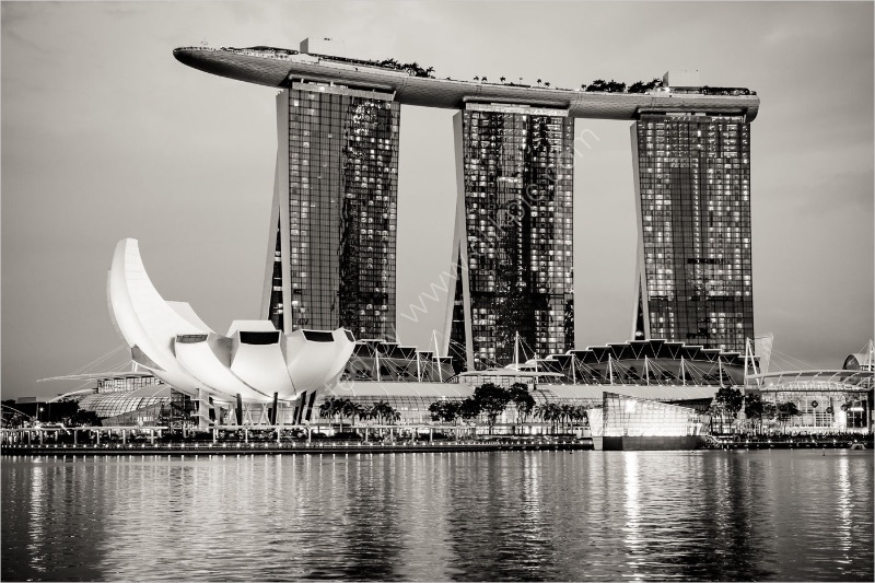 MARINA SANDS BAY HOTEL SINGAPORE by Brenda Howard