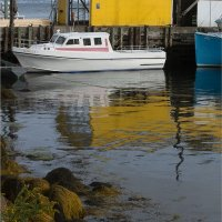 NEW ENGLAND HARBOUR by Gill Dishart