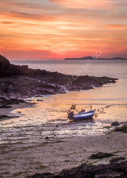 PEMBROKESHIRE SUNSET by Christine Maughan