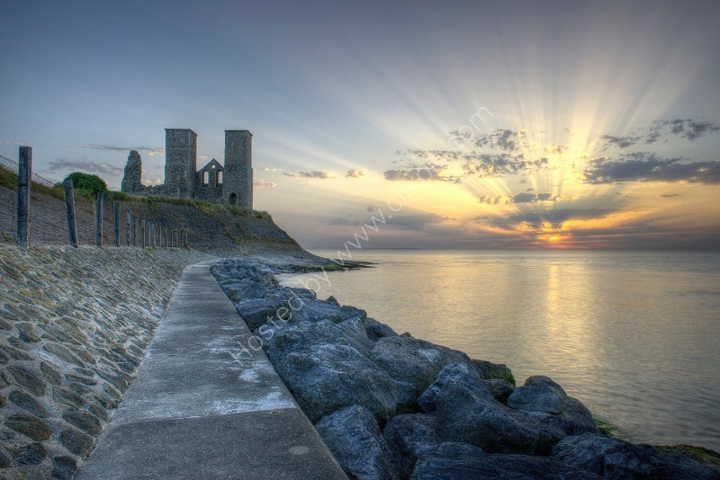 RECULVER TOWERS by Peter Ward