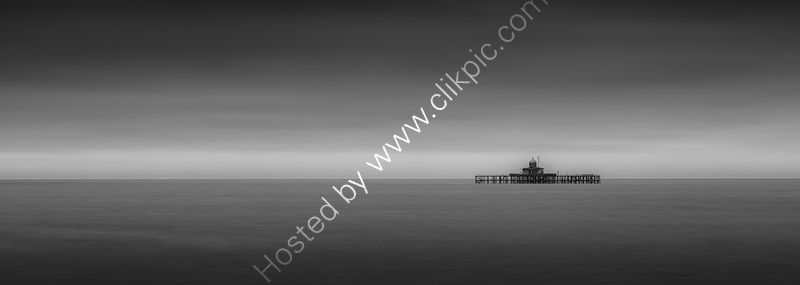 REMAINS OF HERNE BAY PIER by Peter Ward