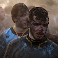 RUGBY TUNNEL FOR THE MUDDIED LOSERS by Stanley J Annable
