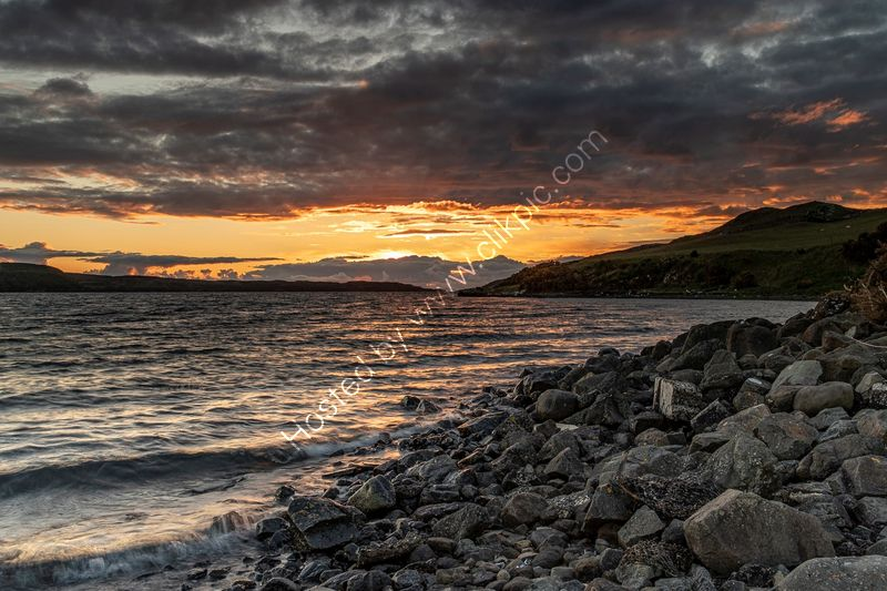 SKYE SUNSET by Chris Hall