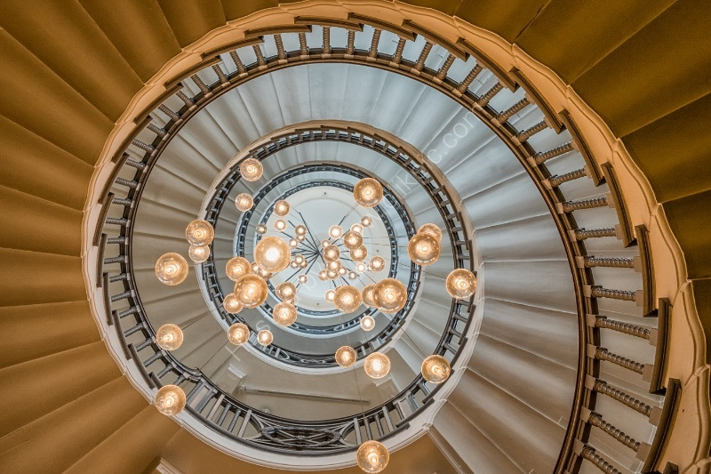 SPIRALLING IN by Chris Hall