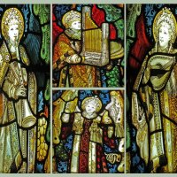 STAINED GLASS MINSTRELS