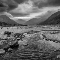 STORMY DAY WASTWATER by Mike Arblaster