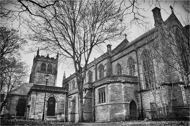 ST WERBURGHS CHURCH By Wayne Churchill