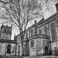 ST WERBURGHS CHURCH By Wayne Churchill