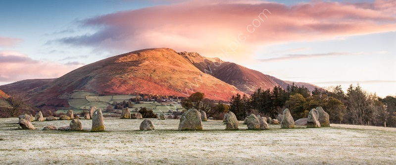 SUNRISE OVER THE STONES by Christine Maughan