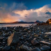SUNSET AT ELGOL BEACH by Mark Constable