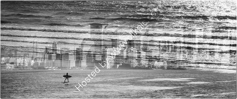 SURF CITY by Wayne Churchill