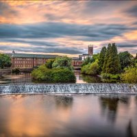 THE WEIR AT DERBY by Ashley Franklin