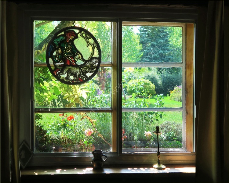 THROUGH A COTTAGE WINDOW by Sue Swain
