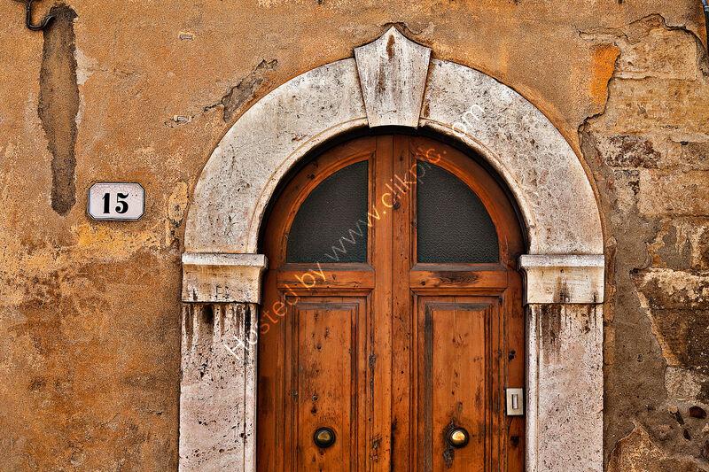 TUSCAN DOOR by Ashley Franklin