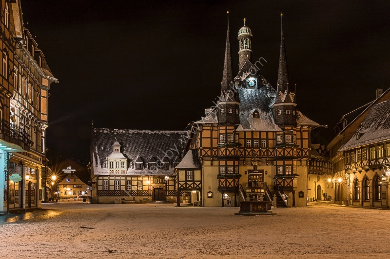VIRGIN SNOW IN WERNIGERODE by Chris Hall