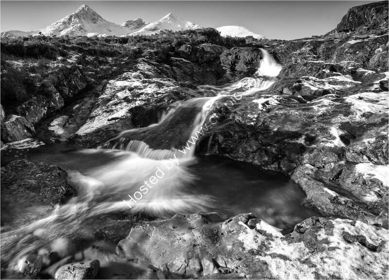 WATER FROM THE CUILLIN HILLS by Mark Constable
