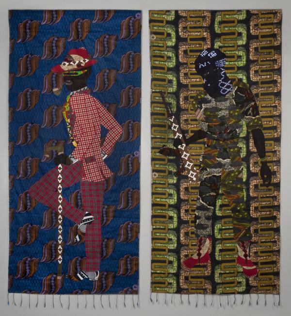 African Rainbow Blue & Indigo