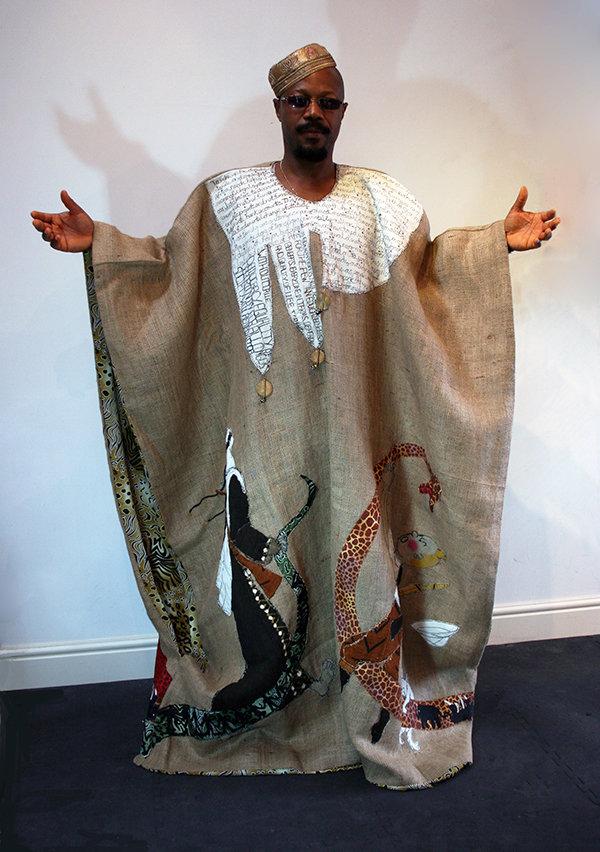 DRC Congo Kimono