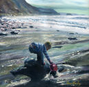 Collecting Water at Strangles. Original SOLD