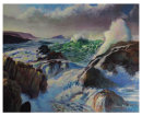 Atlantic Swell Crashing on Rocks  £695