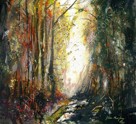 Woodland Path Original £495