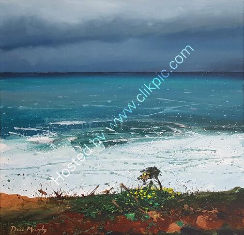 ...Autumn clifftop seascape £750