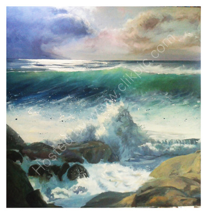 Clean surf evening light  £1200