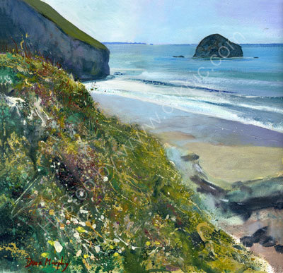 Clifftop Trebarwith  Original SOLD
