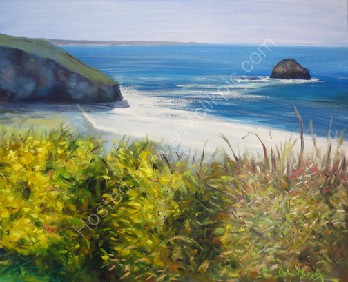 SOLD Clifftop gorse £795
