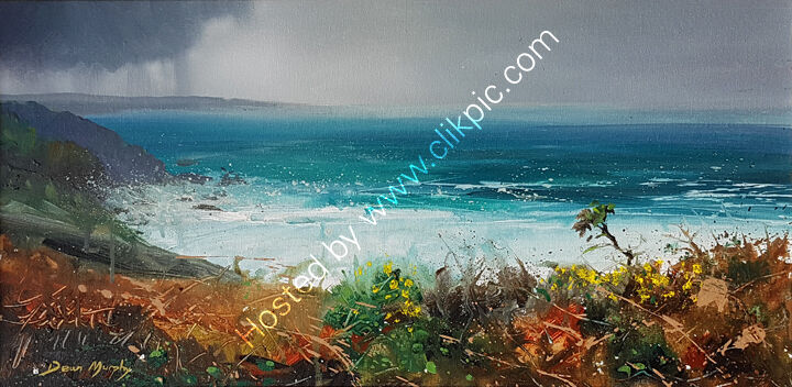 ... Autumn clifftop gorse £750