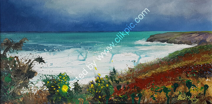 ... Autumn clifftop Trebarwith £750