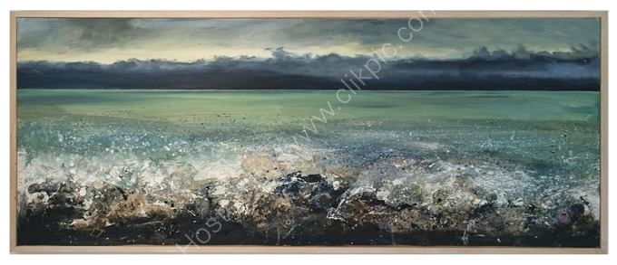SOLD. Calm before the storm £695