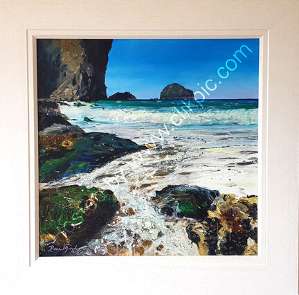 ... SOLD .Dennis Point Trebarwith Strand £750