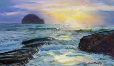 High Tide Sunset.                   SOLD