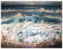 Horizon light moody clouds wave set. £1200