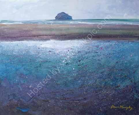 Sand bank reflection Trebarwith strand £495