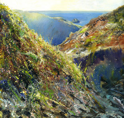 Trebarwith  Quarry View. Original SOLD