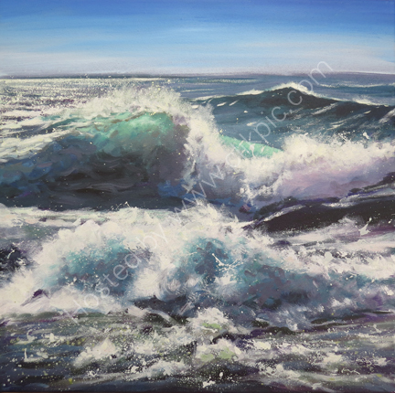 SOLD.Seascape £550
