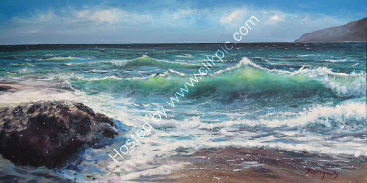 SOLD.Shore break £1200