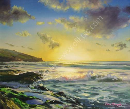 Sunset light £695