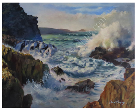 SOLD Swell on the Rocks  £695