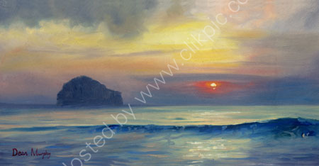 SOLD. Sunset Trebarwith Strand