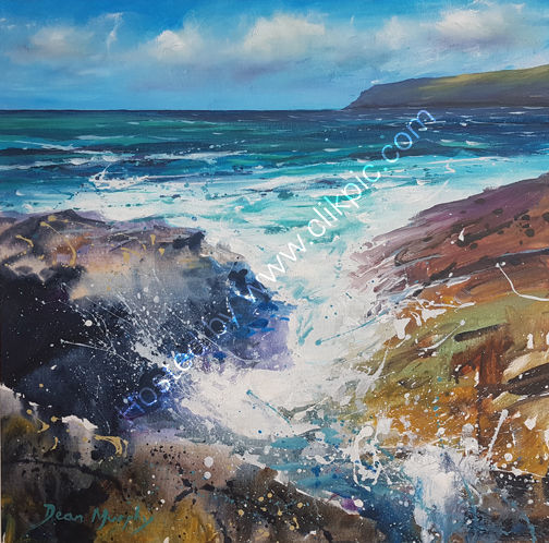 Trebarwith strand seascape 04. £695
