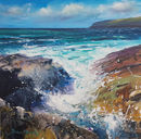 SOLD Trebarwith strand seascape 04. £695