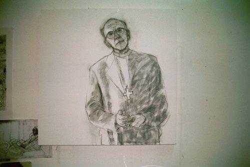 Drawing of Bishop Brian Noble