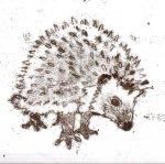 Gilbert the hedgehog