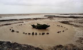 Seahenge in Norfolk