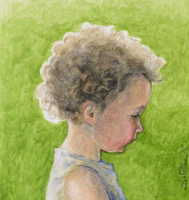 Sunlit Toddler