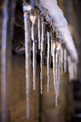 Icicles on the Great Hall
